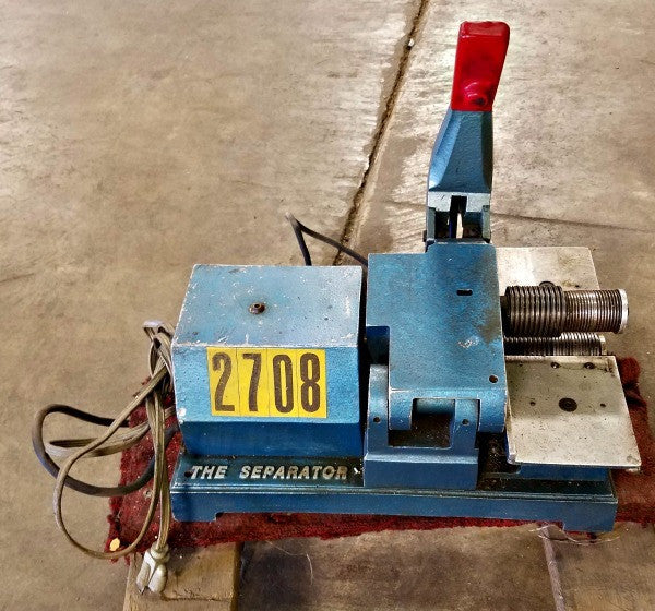 The Separator Model 3250 - Machinery - Metal Logics, Inc. - 1