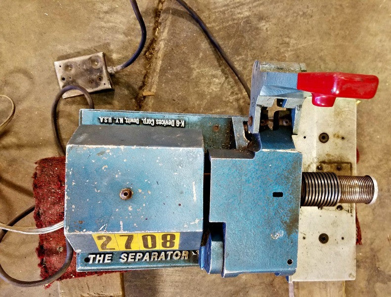 The Separator Model 3250 - Machinery - Metal Logics, Inc. - 5