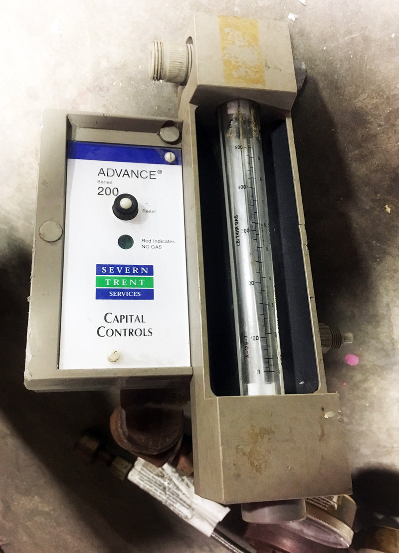Compressed Gas Manifold 2 Flex Lines w/ Severn Trent Series 200 Capital Controls - Valves - Metal Logics, Inc. - 1