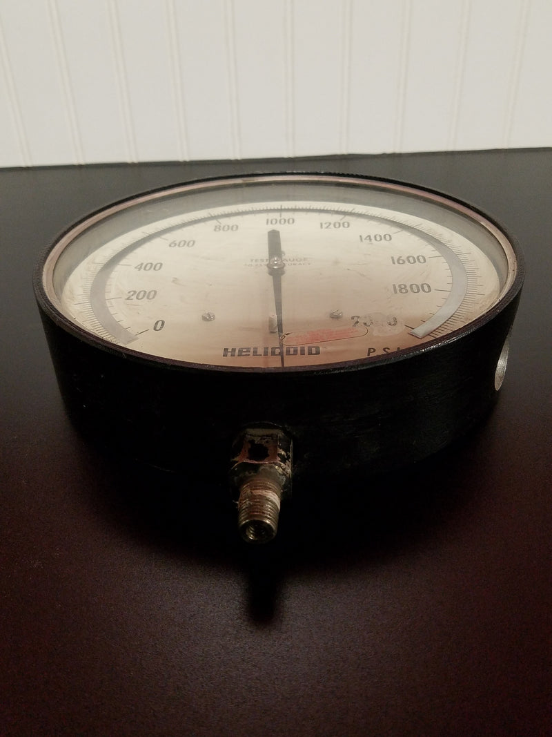 "Helicoid 0-2000 PSI 9"" Test Gauge 2699-0"