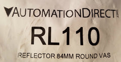 Automation Direct White Reflector RL110