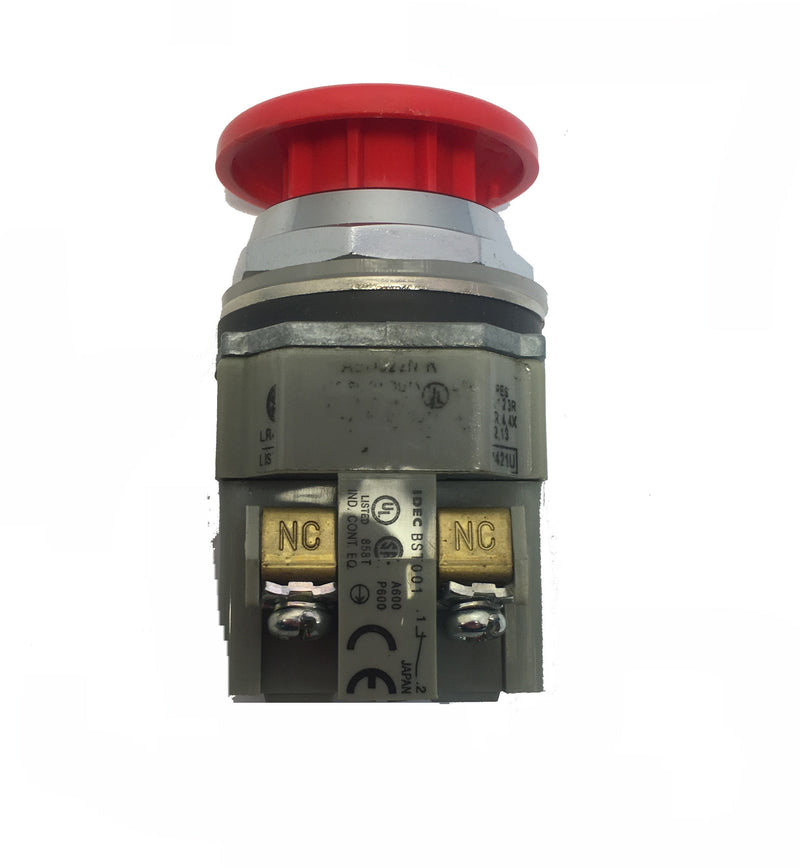 IDEC Pushbutton Pilot Duty BST-001 A600 P600 Red Switch