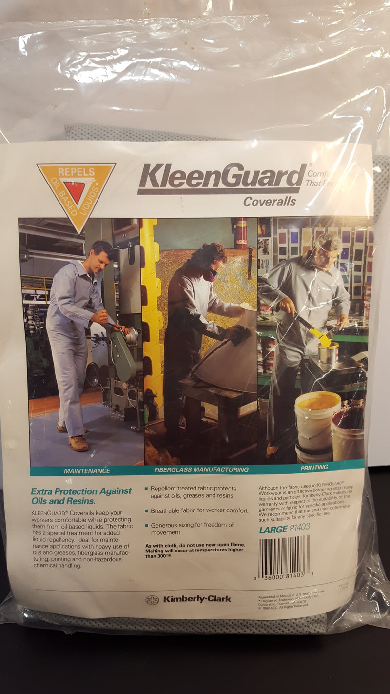 KleenGuard Coveralls 81403