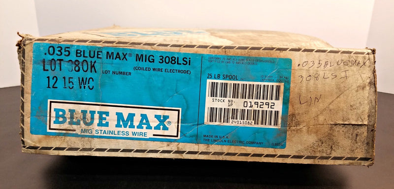 ".035"" Blue Max Mig 308LSi Stainless 25 lb. Welding Wire Spool"