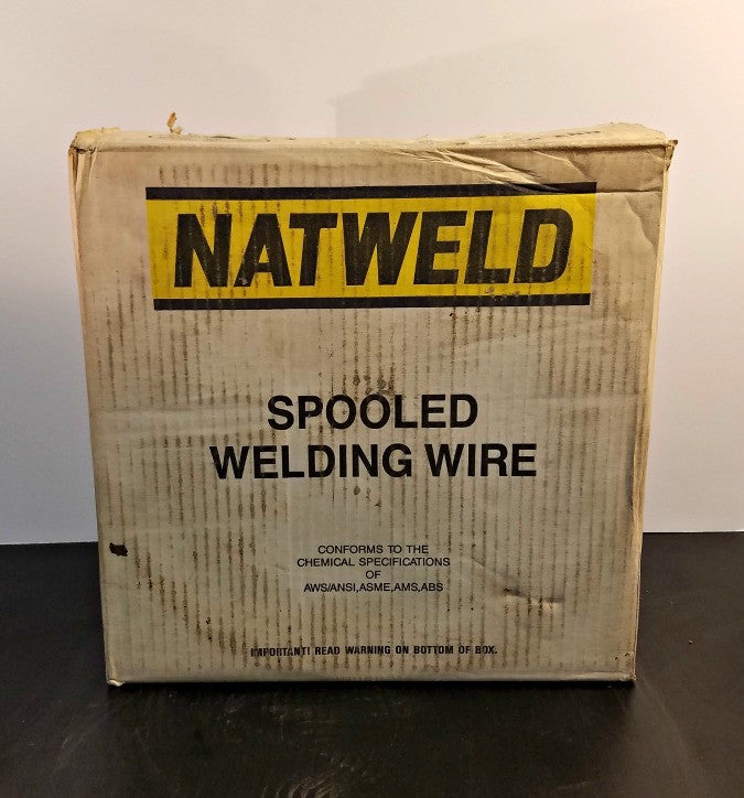 ".045"" Natweld ER308L Stainless Welding Wire 25 lb. Spool"