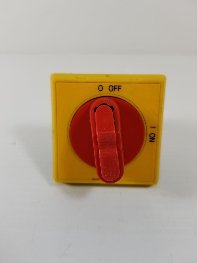 On/Off Selector Switch Knob Only Red/Yellow Electrical