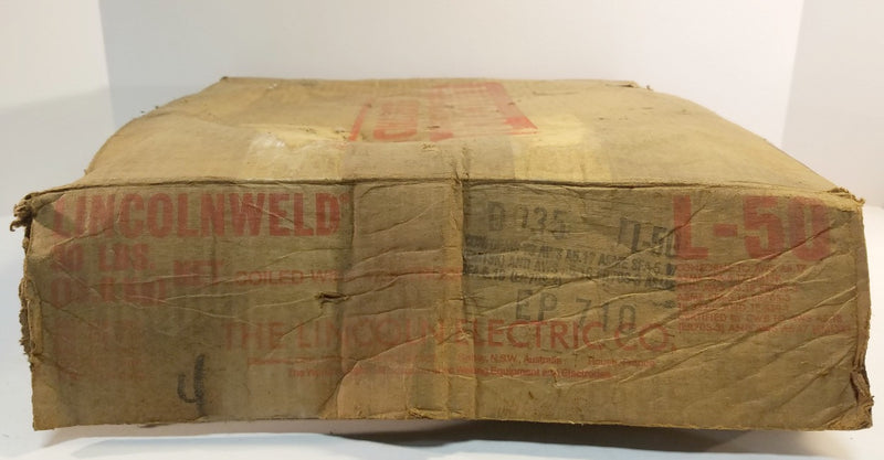 ".035"" Lincolnweld L-50 Lincoln Electric Welding Wire 30 lbs."