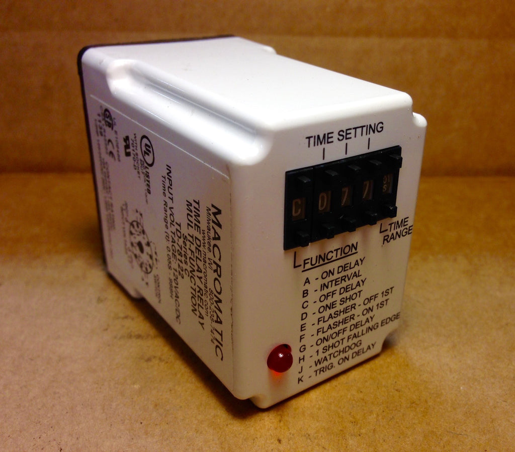 Macromatic Time Delay Relay TD-78122