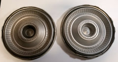 Set of 4 Ford Thunderbird Antique Hub Caps 1965-66 Used Classic Car Collectible