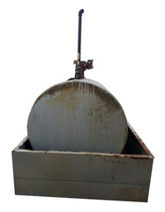 500 Gallon Tuthill Diesel Fuel Oil Storage Tank with Fill-Rite Pump Above Ground