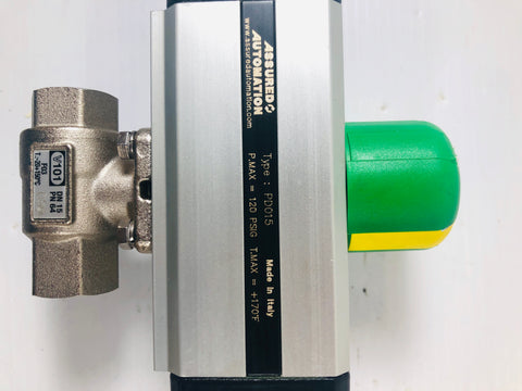 Assured Automation Valve Type: PD015 V101 DN15 PN64