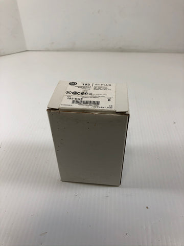 Allen-Bradley 193-EGF Series B E1 Plus Ground Fault Side Mount Module
