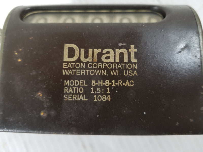 Durant 5-H-8-1-R-AC Revolution Counter