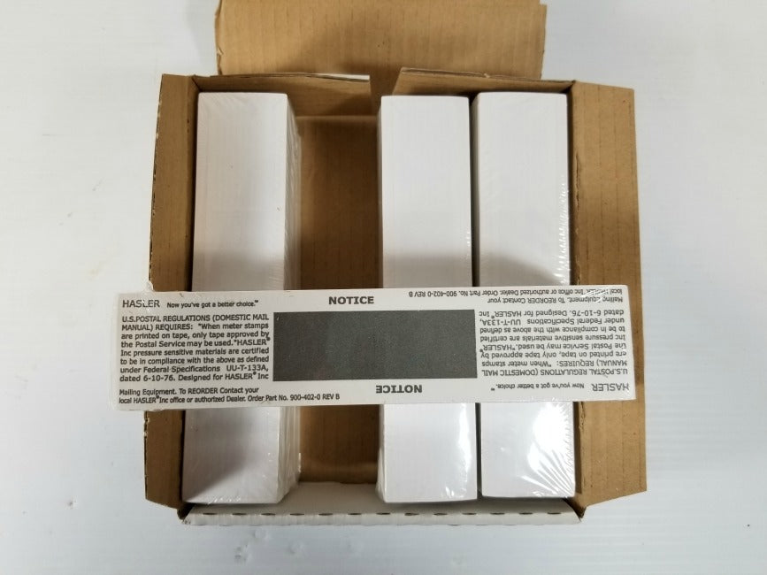 Hasler 900-402-0 Postage Meter Tapes 1,000/Box