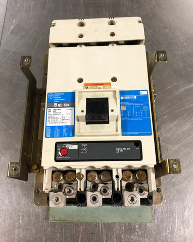 Westinghouse Series C ND3800T33W Industrial Circuit Breaker 3 Pole 800A