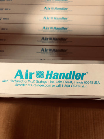 Air Handler Filter 24 x 24 x 2 Pleated Merv 10 4YUY8 (Case of 12))