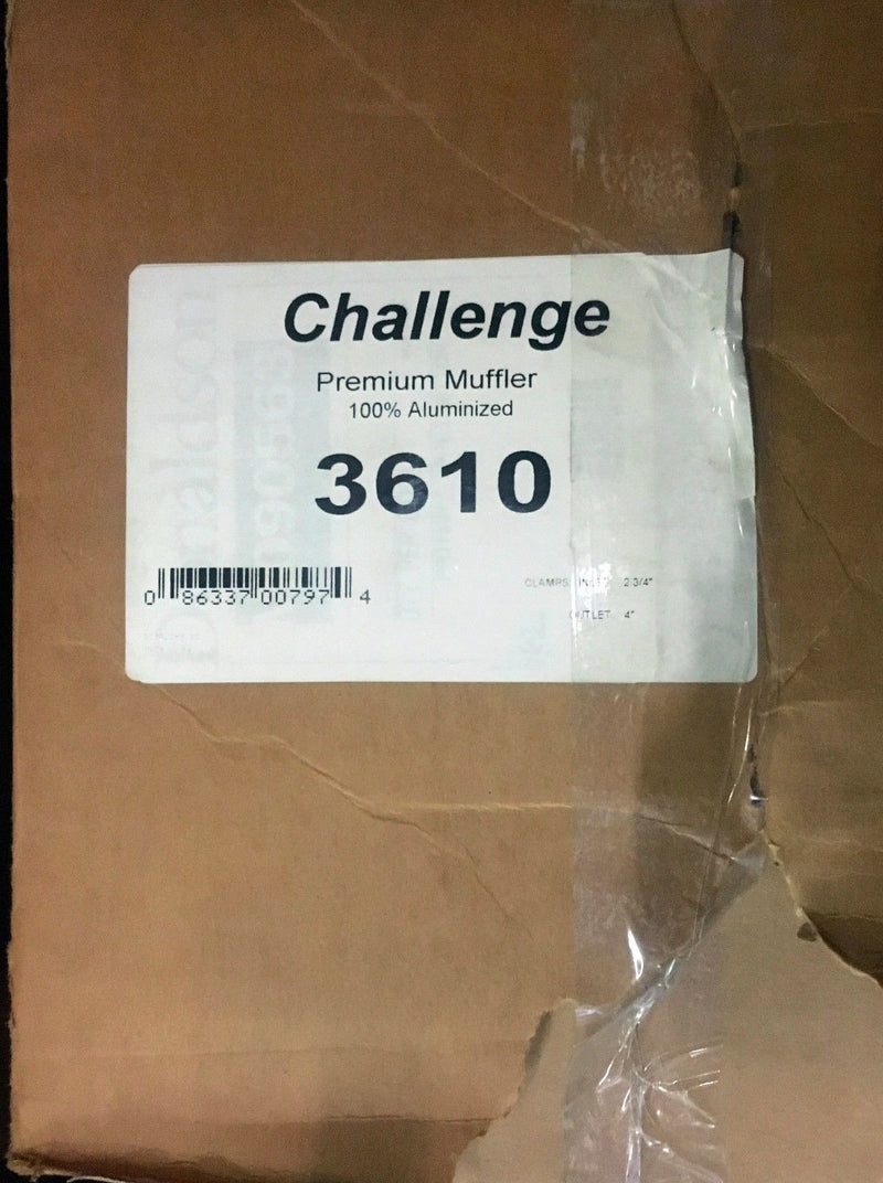 Merit Exhaust Challenge Series Model 3610
