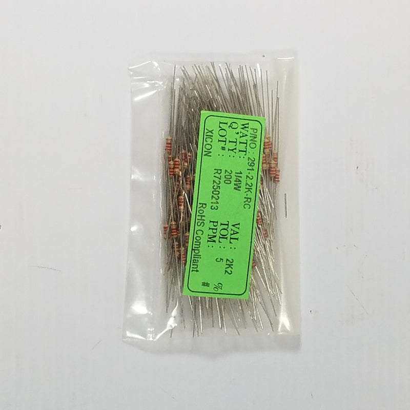 Xicon 291-2.2K-RC Resistor (Lot of 200)