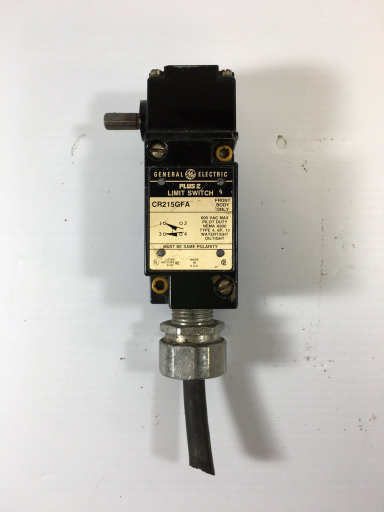 General Electric Limit Switch CR215GFA