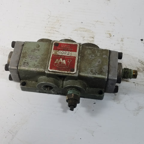 AAA Products 4 Way Air or Gas Valve R0R2