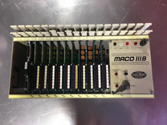 Barber Colman Rack MBA2-00000-000-0-00 with Maco III B Panel FOR PARTS