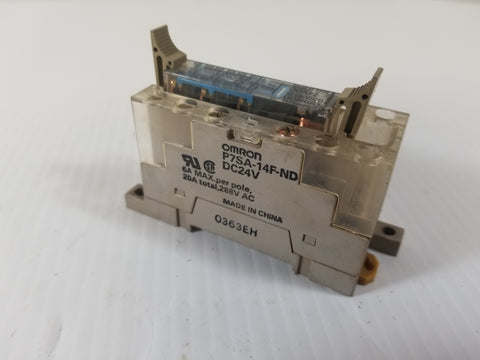 Omron G7SA-5A1B General Purpose Relay with Base P7SA-14F-ND