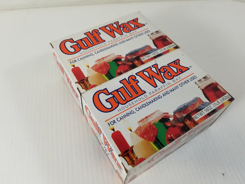 Gulf Wax Household Paraffin Wax 1lb (Lot of 2)