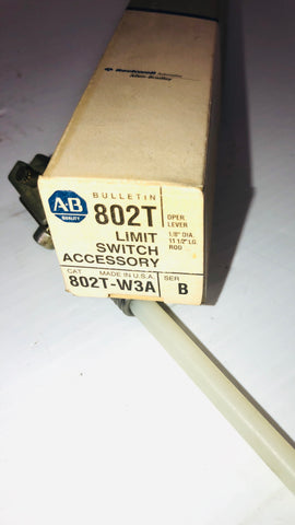 Allen-Bradley Limit Switch Accessory 802T-W3A Series B