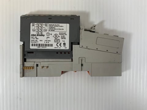 Allen-Bradley 1734-OW4 PLC Output Module with 1734-MB