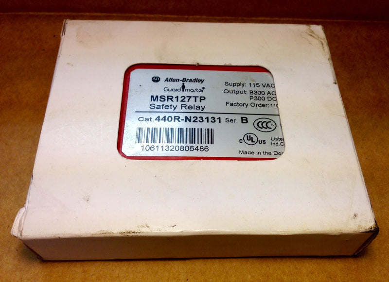 Allen Bradley Guard Master MSR127TP Safety Relay - Sensors and Switches - Metal Logics, Inc. - 2