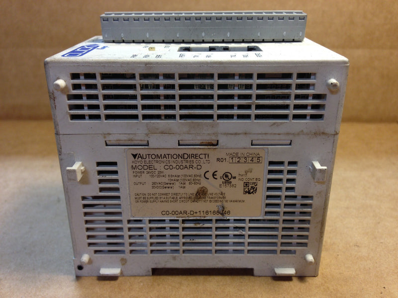 Automation Direct Module C0-00AR-D - Used Products - Metal Logics, Inc. - 3
