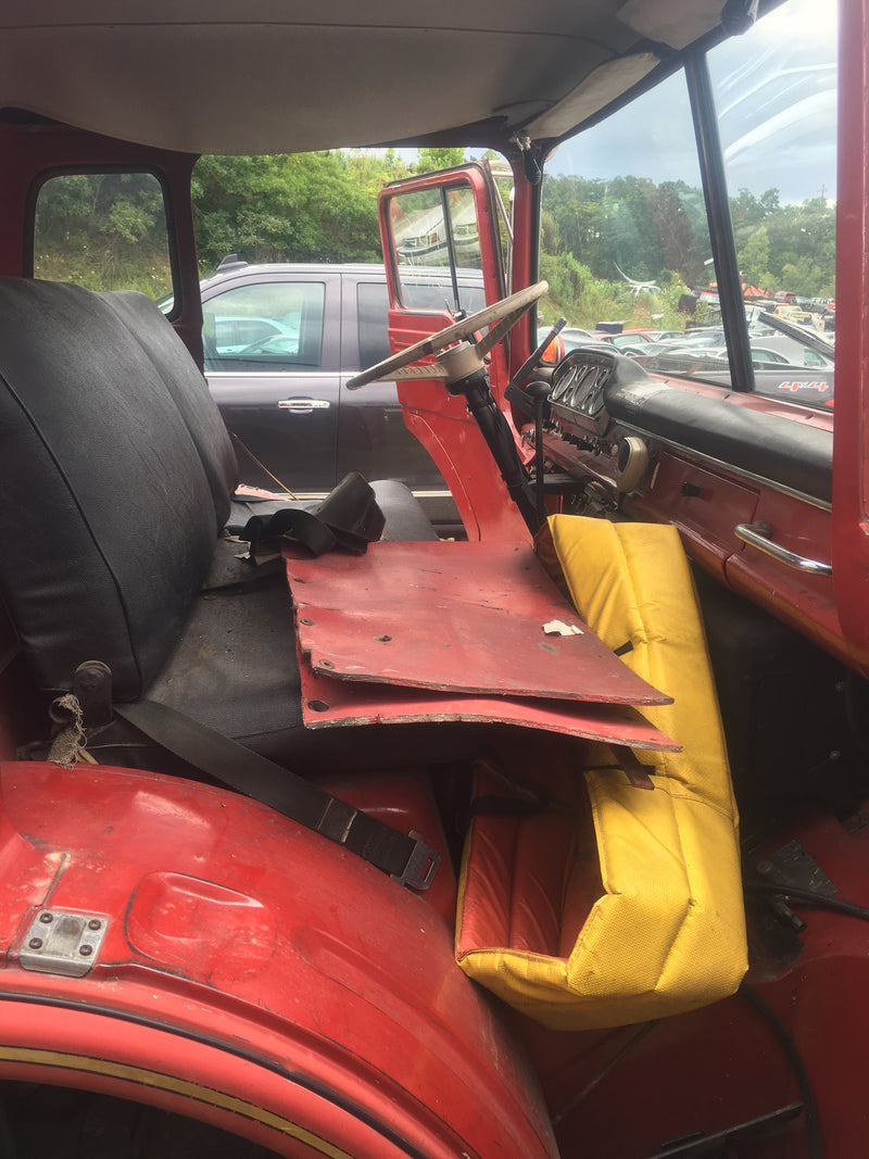 Antique Ford Firetruck Body