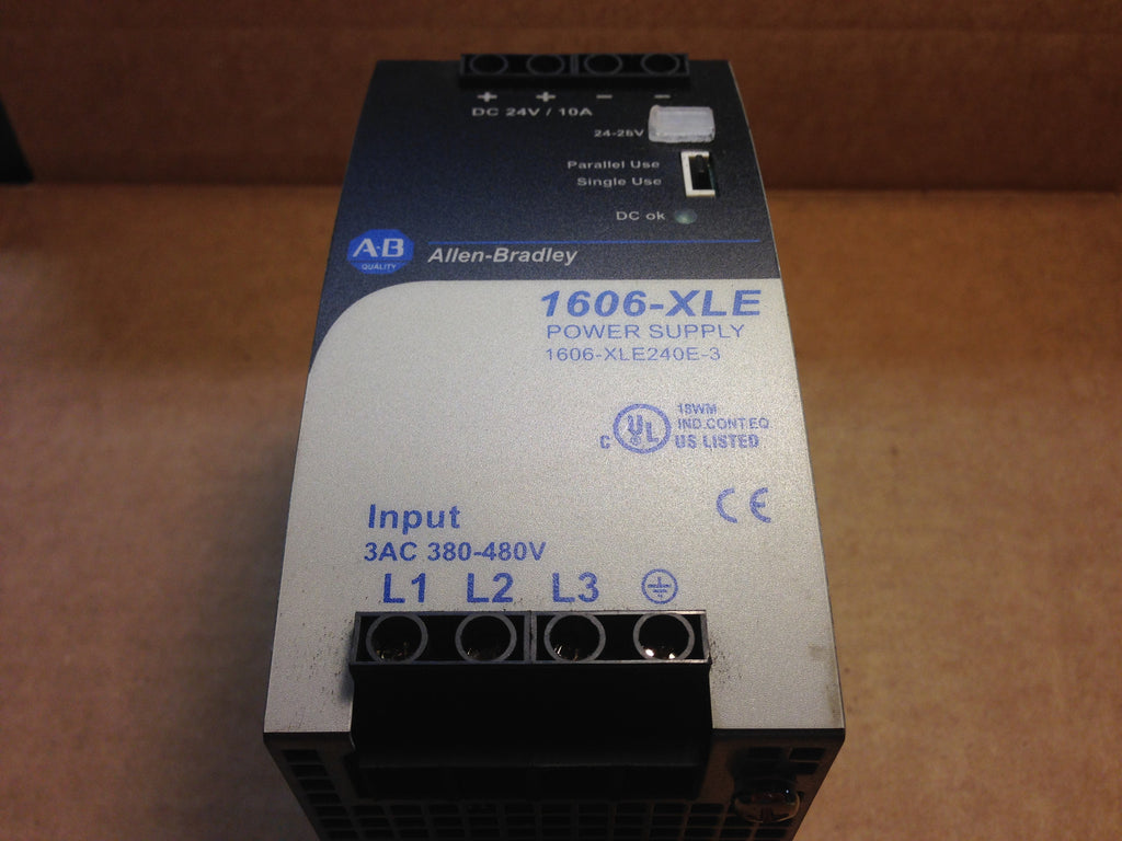 Allen Bradley Power Supply 1606-XLE240E-3 - Electrical Equipment - Metal Logics, Inc. - 1