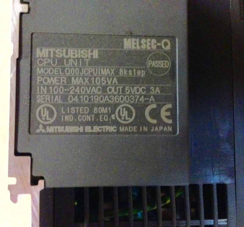 Mitsubishi Melsec CPU Unit Q00JCPU - Used Products - Metal Logics, Inc. - 4