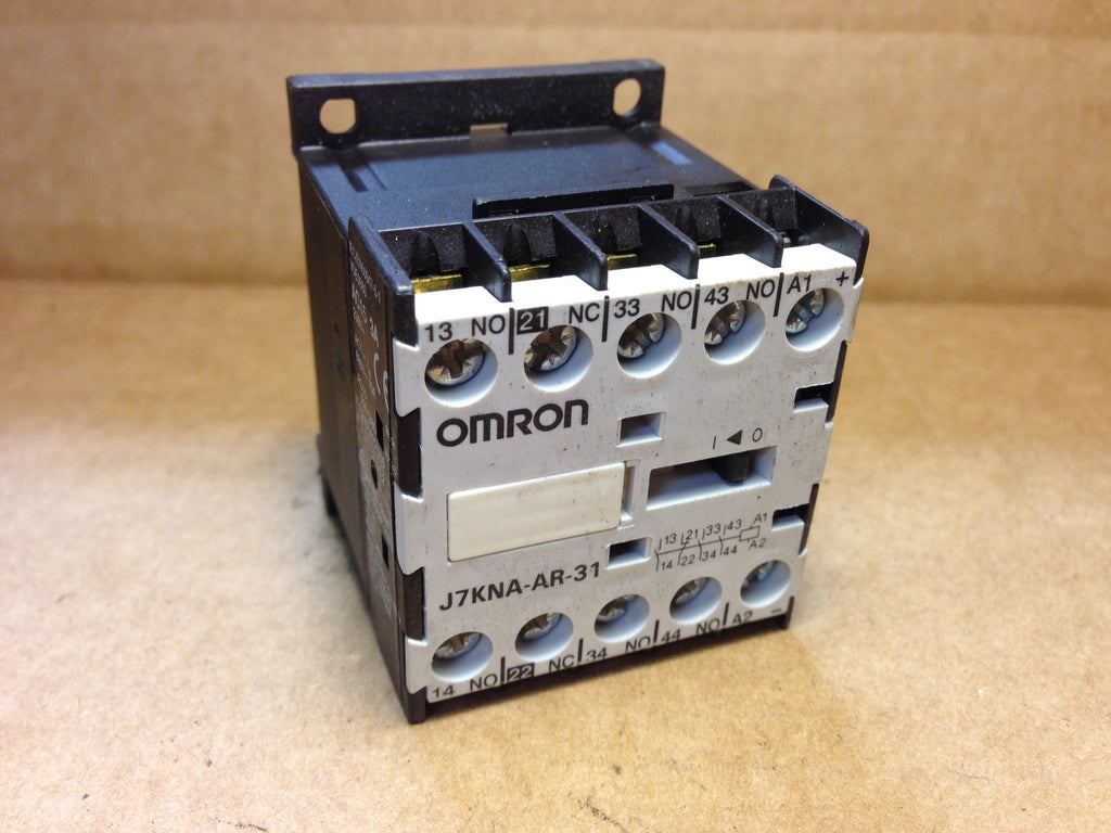 Omron Contactor Relay J7KNA-AR-31 - Electrical Equipment - Metal Logics, Inc. - 1