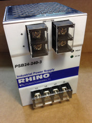 Rhino Automation Direct Power Supply PSB24-240-3 - Electrical Equipment - Metal Logics, Inc. - 1