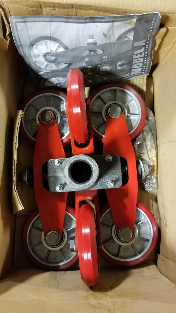 Elsco Model A High Speed Roller Elevator Guides