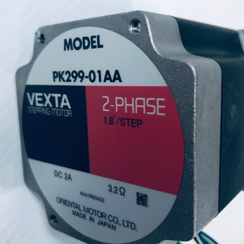 Vexta Stepping Motor 2-Phase PK299-01AA