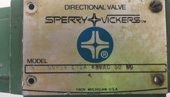 Sperry Vickers Directional Valve DG4S4012A220AC5050