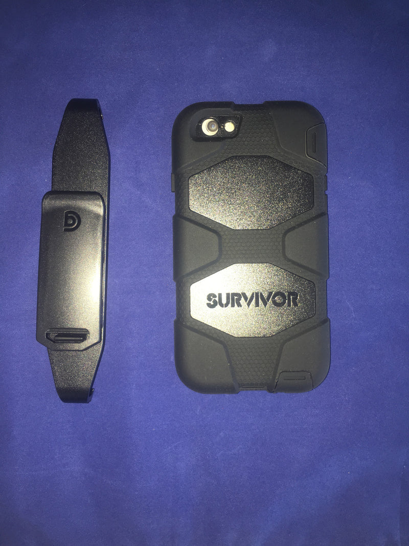 Griffin Survivor All-Terrain for iPhone 6 - Black - Consumer Products - Metal Logics, Inc. - 2