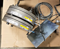 Set of 2 Mayr ROBA-stop Safety Brakes 800/896.002.30S with Controller (Elevator)