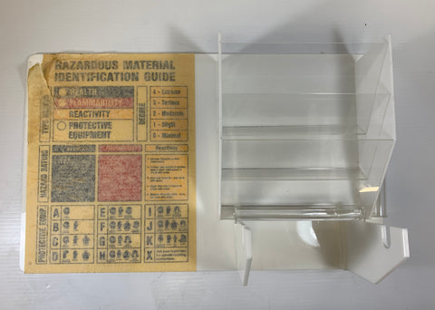 Hazardous Material Identification Guide Rack