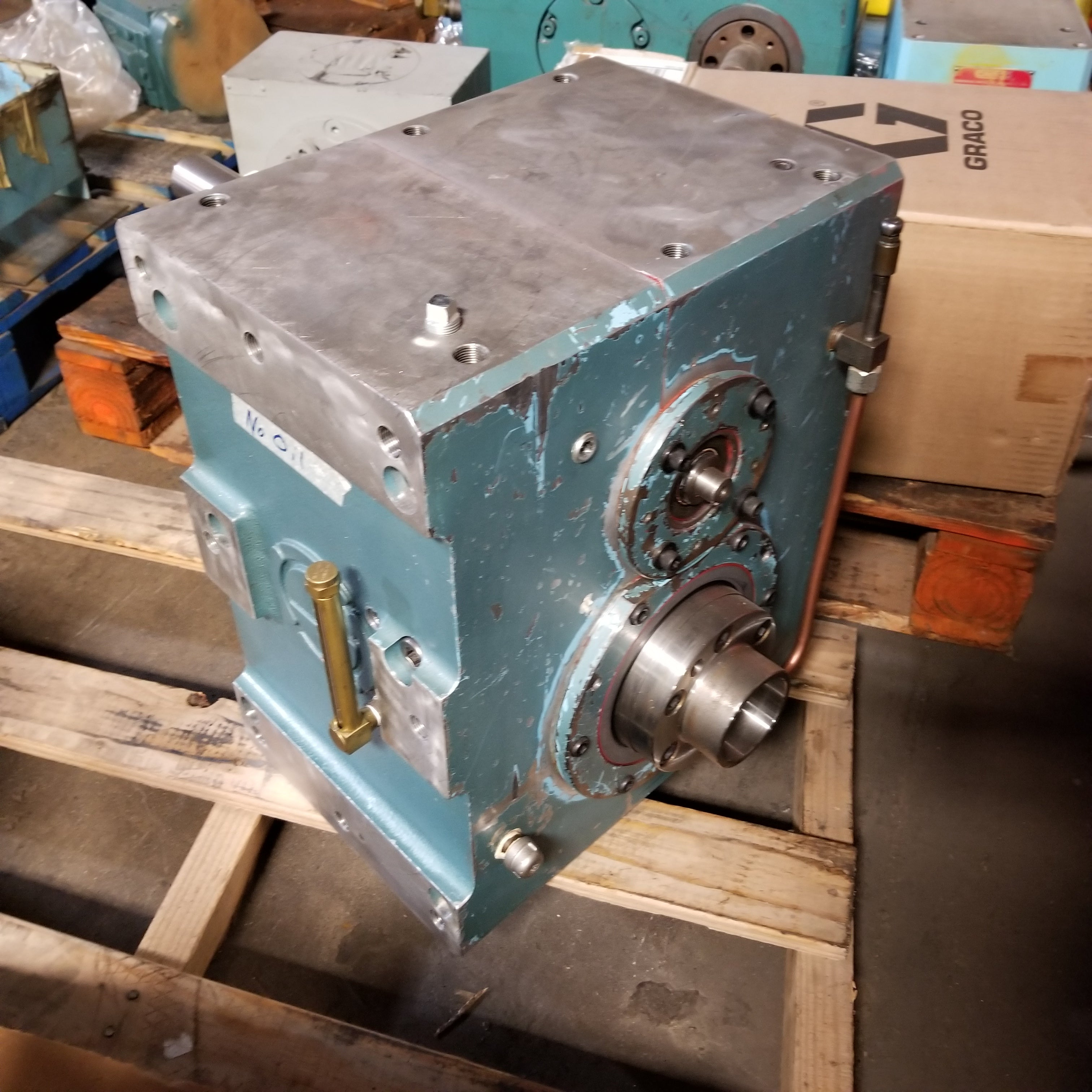 Camco P637 6 Fy200 225 Speed Reducer Gear Box Metal Logics Inc