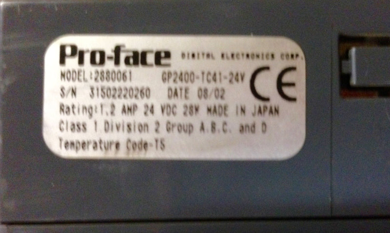 Proface Touch Screen 2880061
