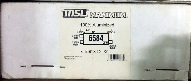 MSL Maximum Muffler AP Exhaust Model 6584