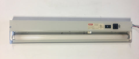 Hoffman Fluorescent Light Fixture ALF16M24R 120VAC 60Hz .35AMPS