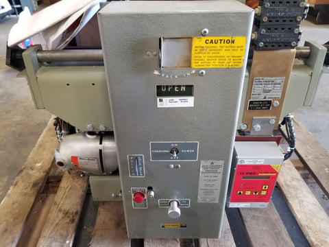 Allis Chalmers LA-3000 Air Circuit Breaker 600V 3000A