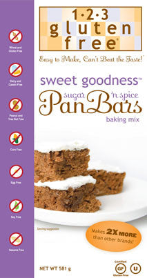 Sweet Goodness Pan Bars