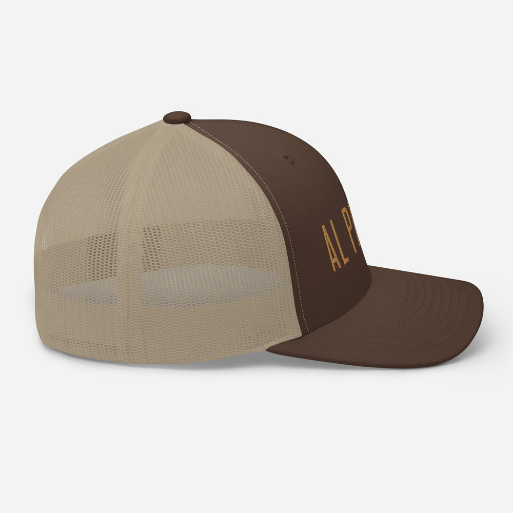 Al Pastor Retro Trucker (Brown)