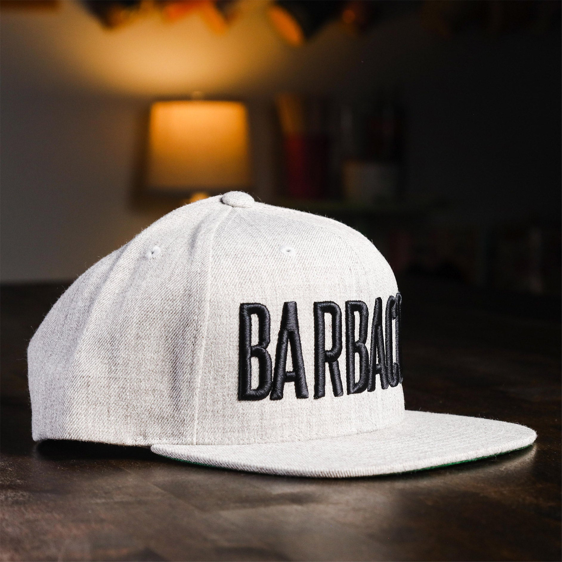 Barbacoa Snapback Heather
